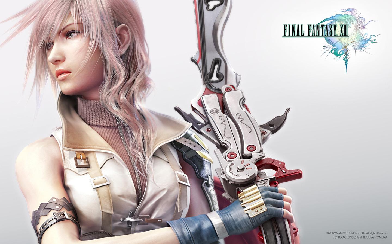 Final Fantasy Lightning [wide] 1440x900