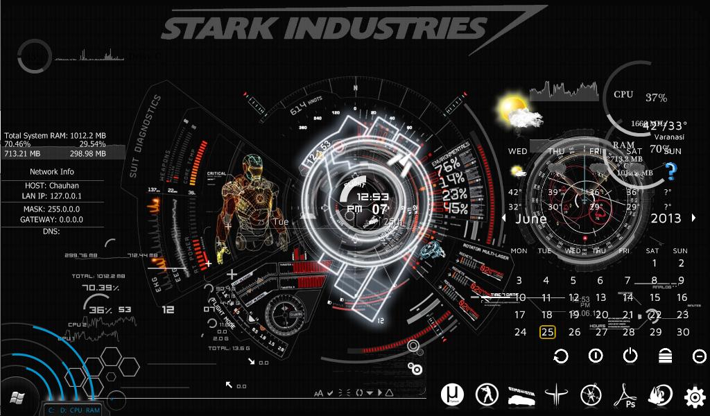 Stark Industries Live Wallpaper For Kids