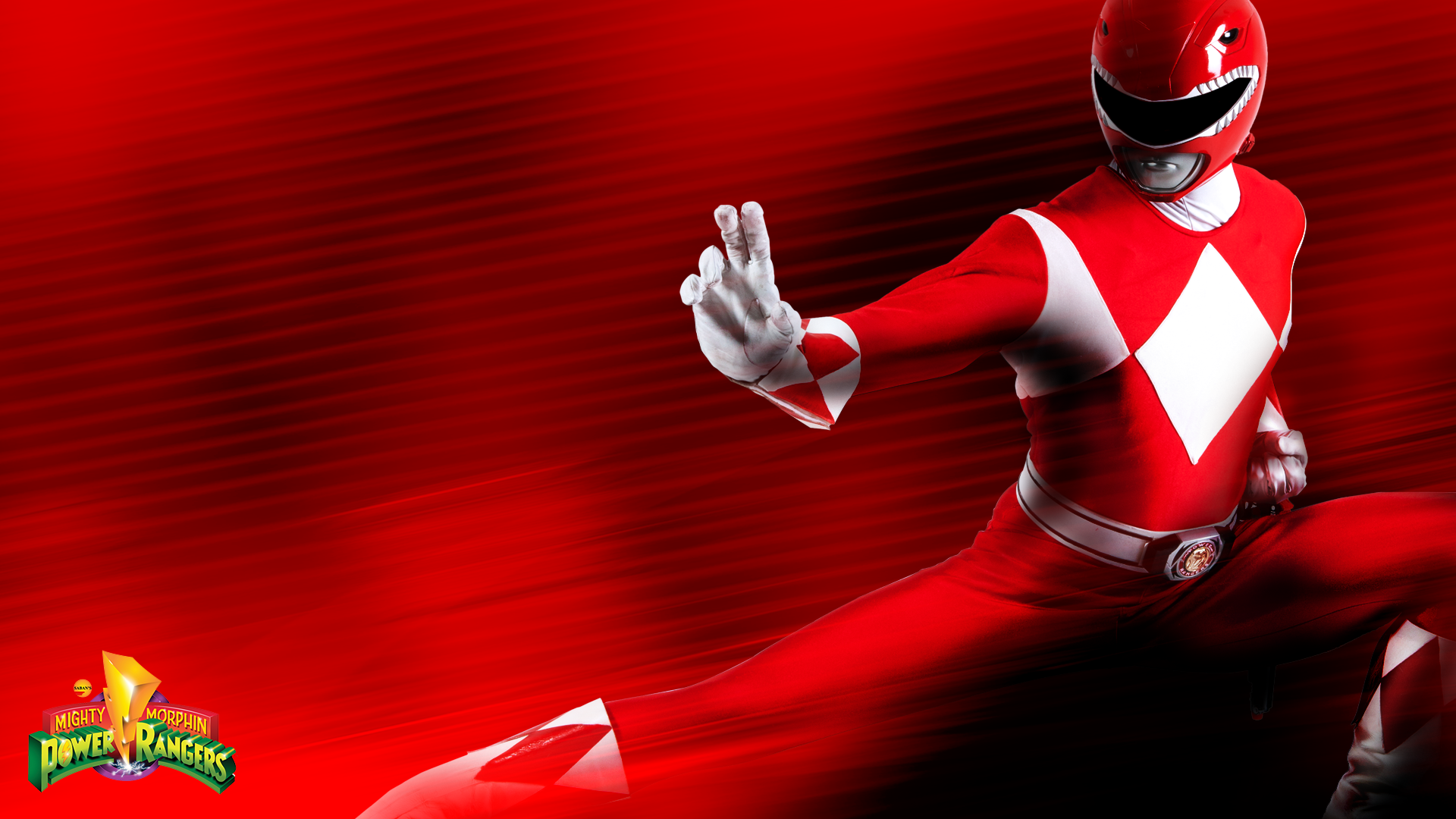 red ranger wallpaper -#main