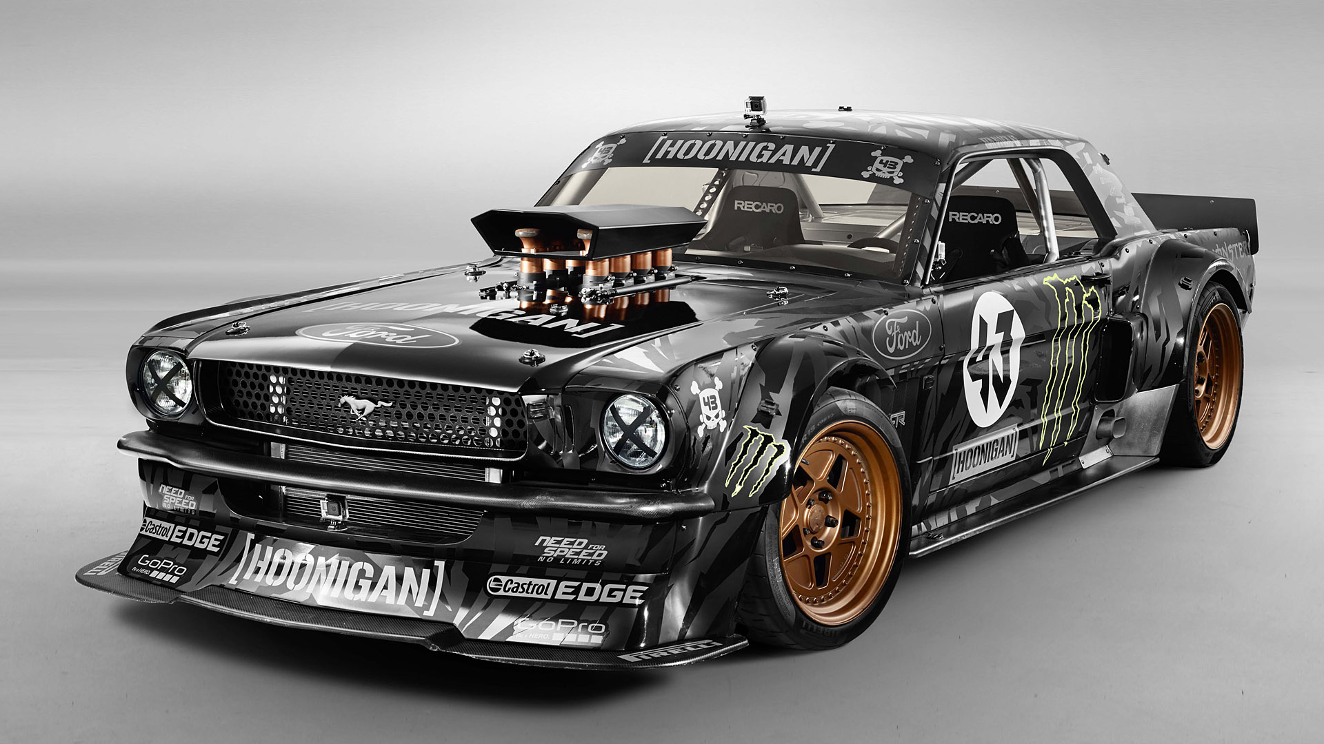 2014 Hoonigan Mustang RTR by Ken Block Wallpapers 1920x1080