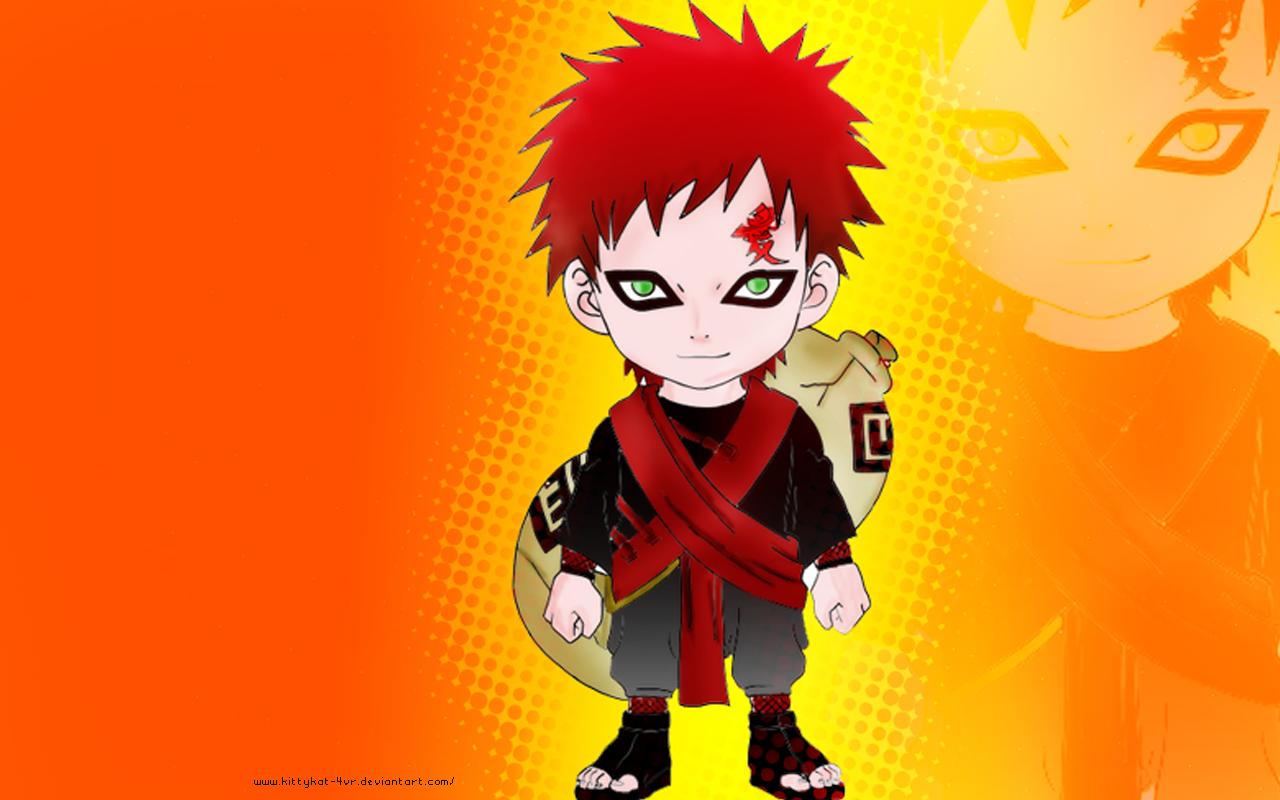 Naruto Characters Gaara 1280x800
