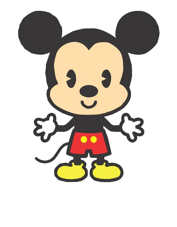 Cute Mickey Mouse PNG YoyangSwift13 by yoyangswift13 600x771