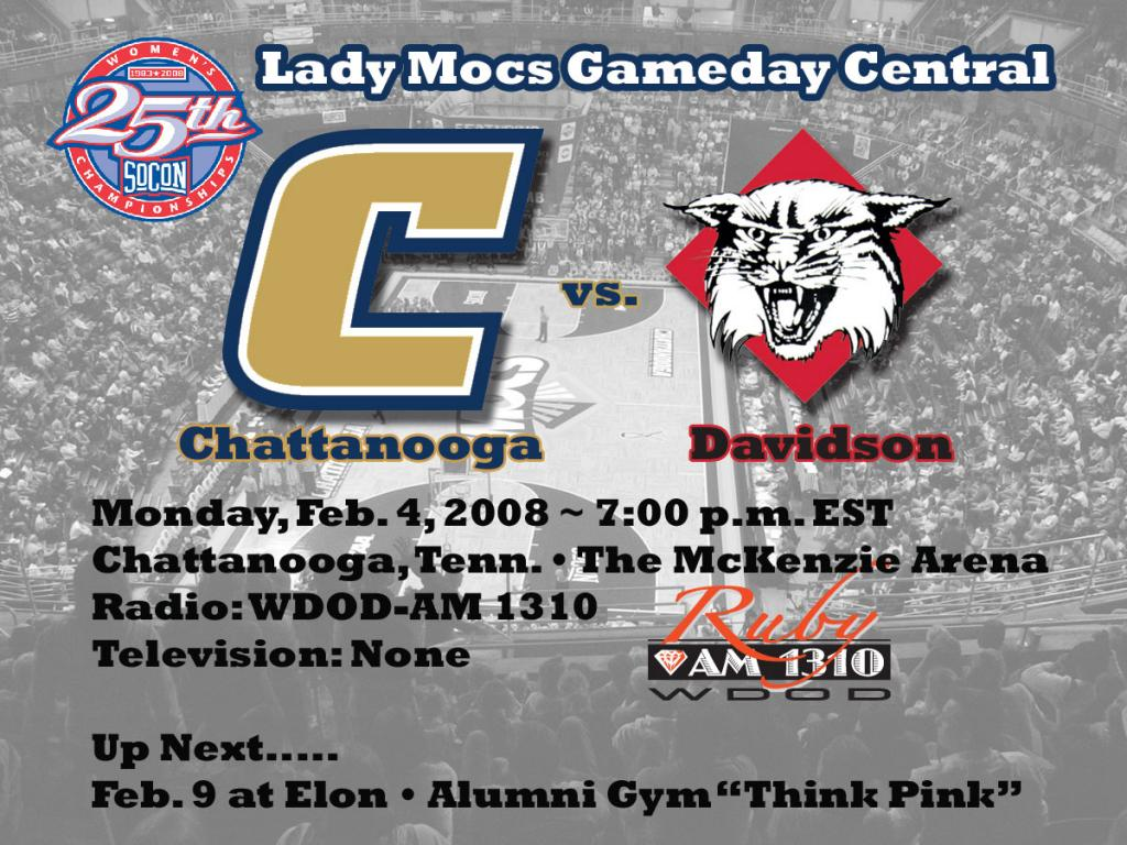 Chattanooga Athletics   Lady Mocs Put Win Streak on the Line 1024x768
