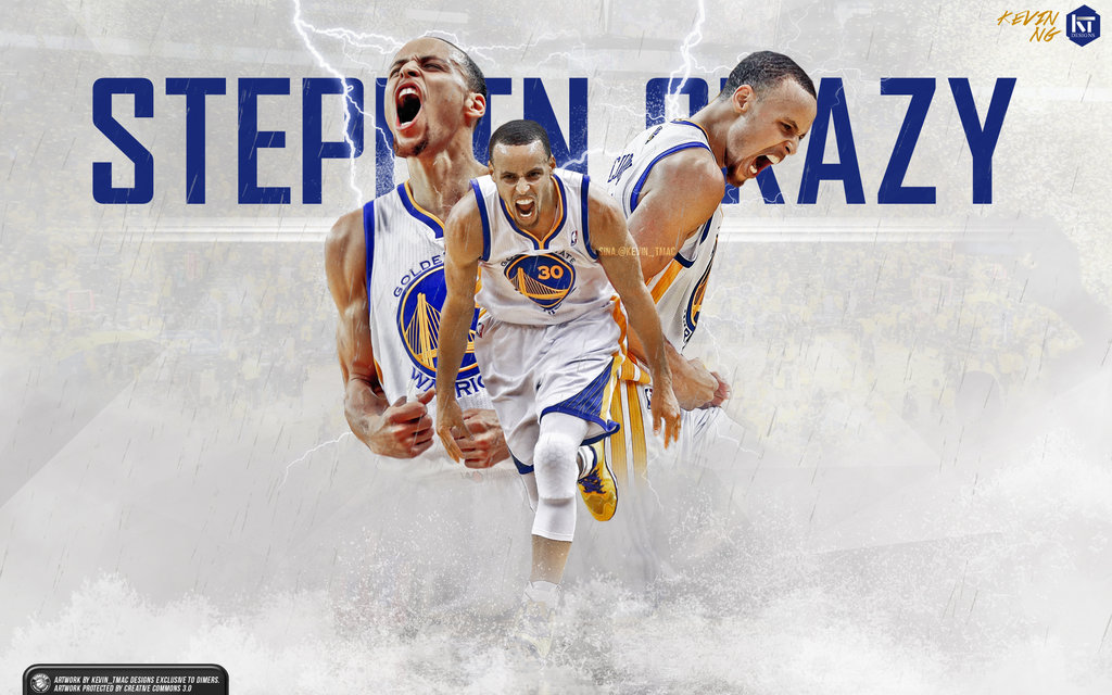 FunMozar Stephen Curry Splash Wallpaper 1024x640