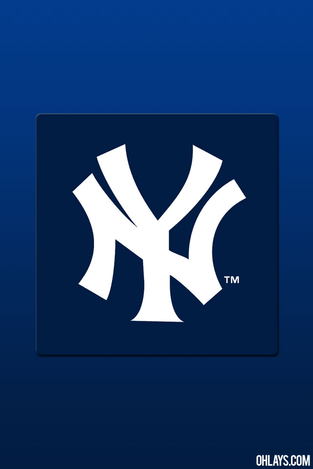 New York Yankees iPhone Wallpaper 772 ohLays 640x960