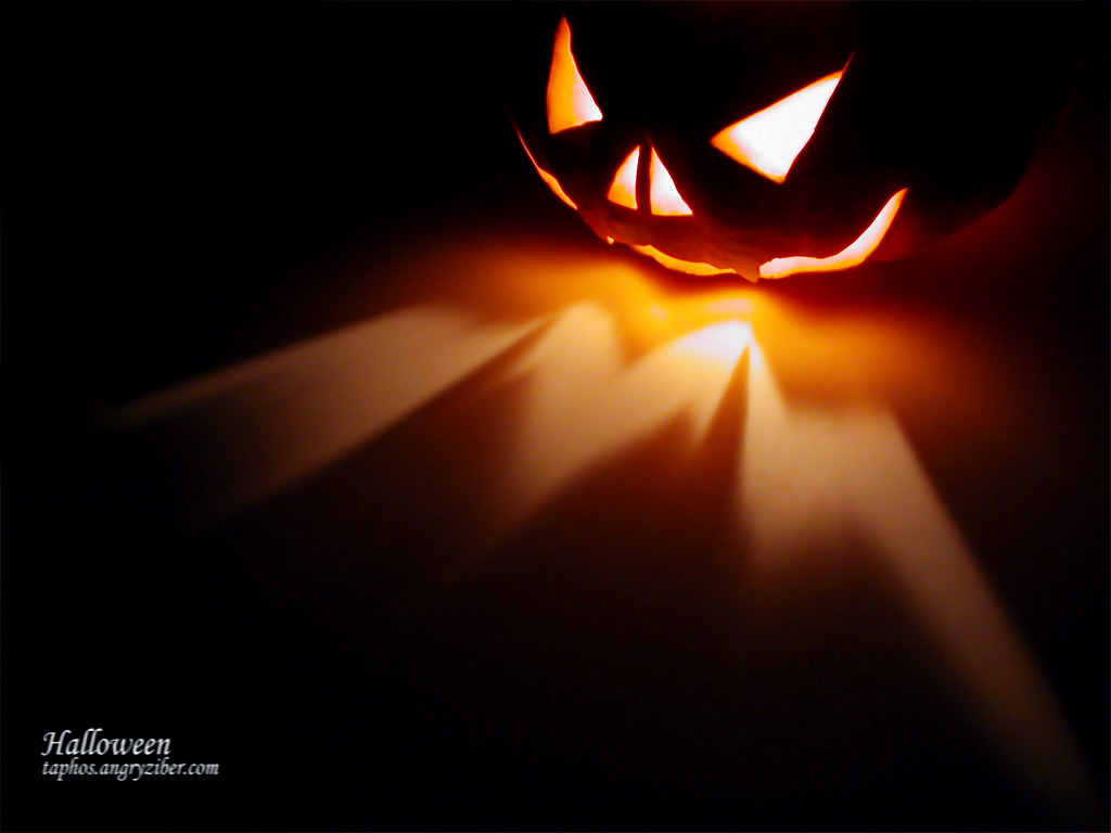 Halloween 3D wallpapers Halloween 3D background 1024x768