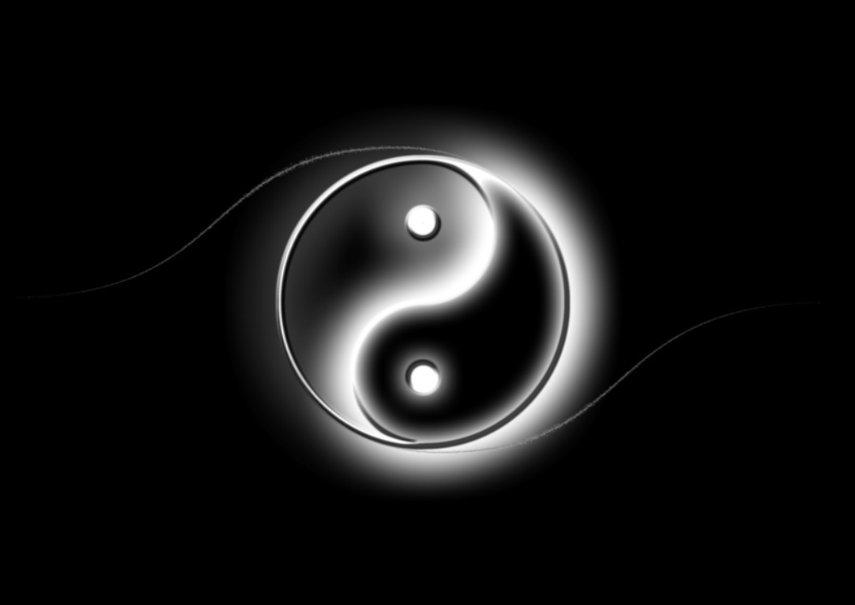 Ying & Yang wallpaper - ForWallpaper.com