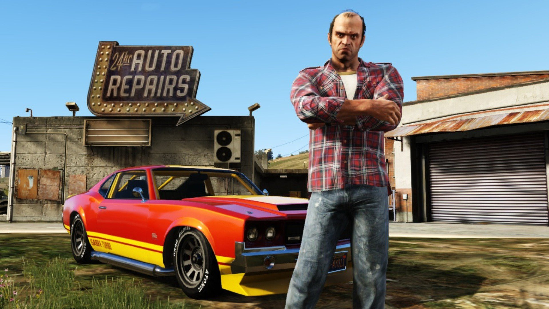 Grand Theft Auto Repairs GTA 5 Wallpaper HD 322 Wallpaper 1920x1080