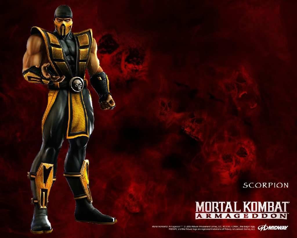 Mortal Kombat Armageddon scorpion   Mortal Kombat Wallpaper 1024x819