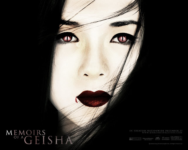 The Memoirs Of A Geisha poster has been tweeked slightly as to apeal 640x512