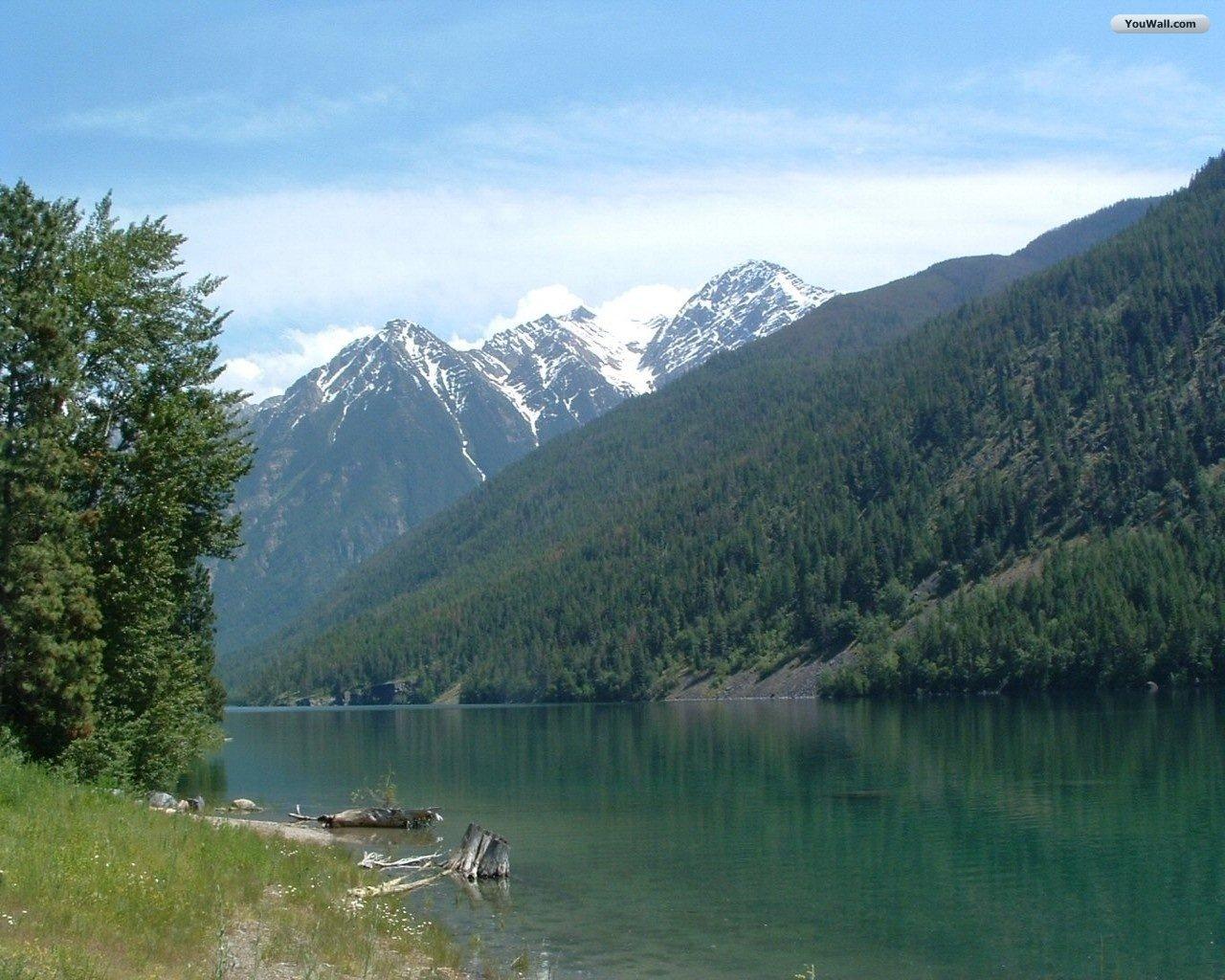 Green Mountain Lake Wallpaper   wallpaperwallpapersfree wallpaper 1280x1024