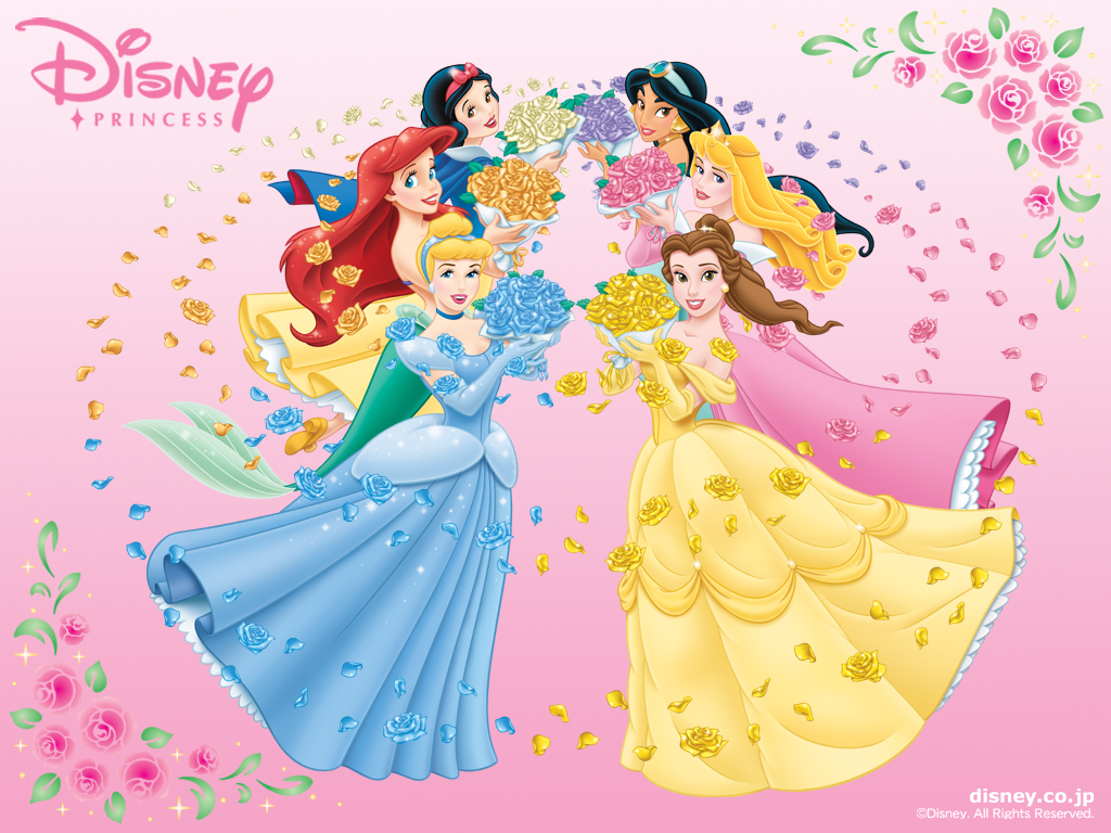 Disney Princesses   Disney Princess Wallpaper 6185733 1024x768
