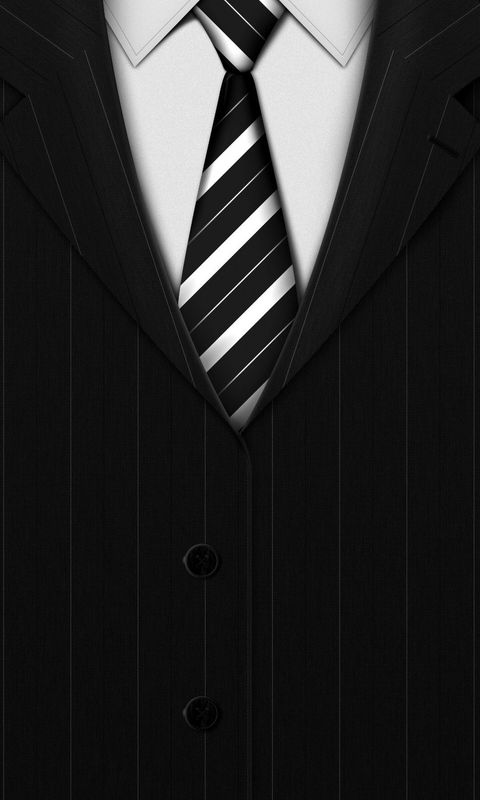 Black suit Mobile Wallpaper 4290 480x800