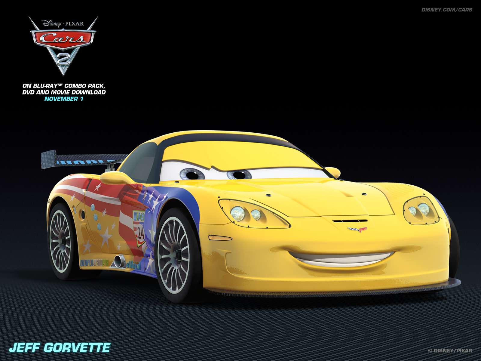 Jeff Grovette   Disney Pixar Cars 2 Wallpaper 28105123 1600x1200