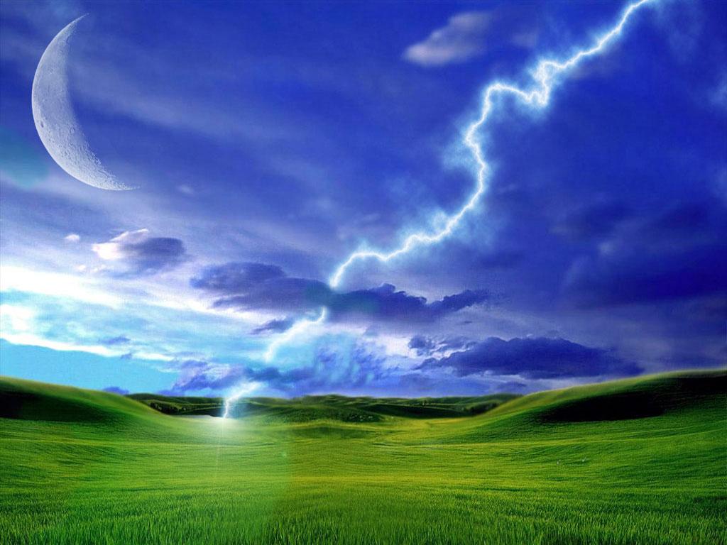 Spring Thunder PC Desktop Wallpaper Download Spring Thunder 1024x768