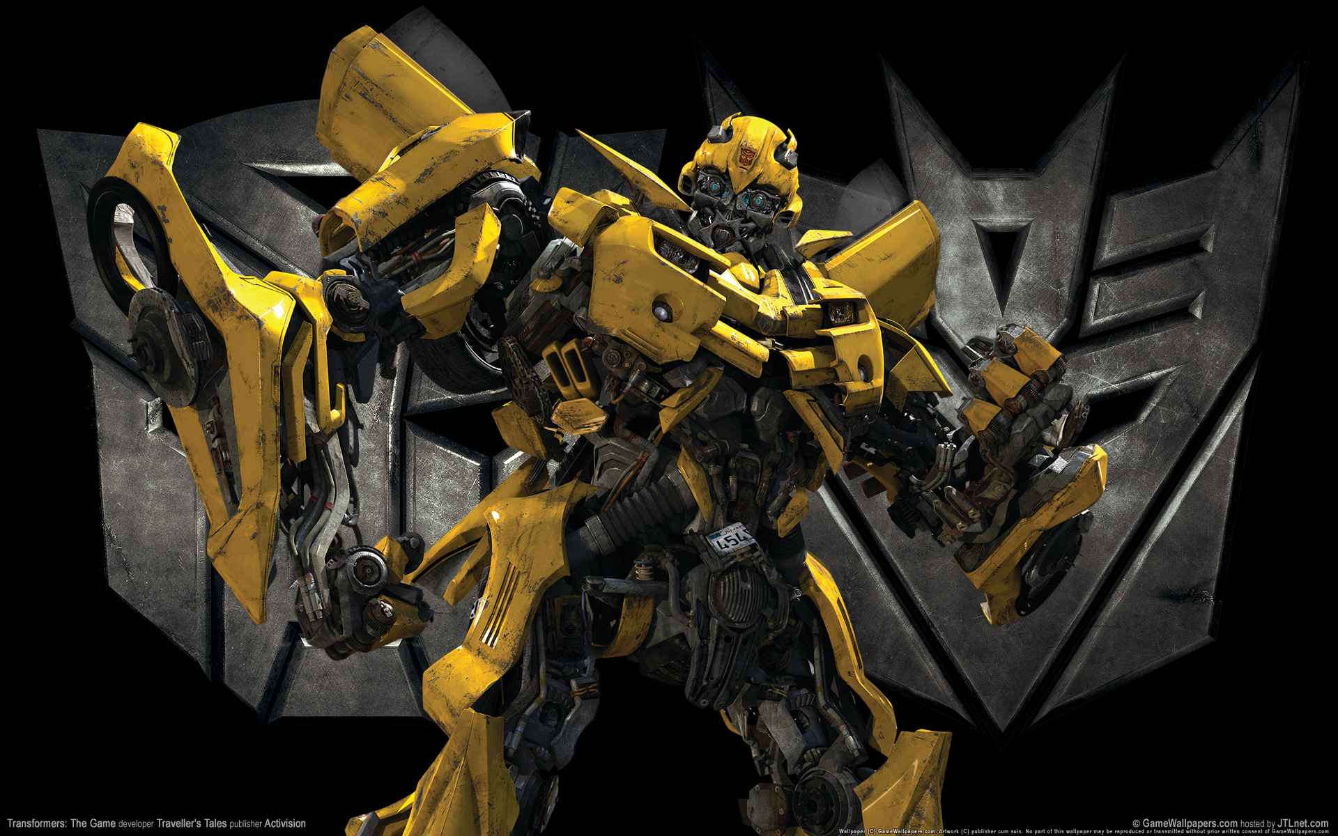 Transformers The Game wallpaper   124017 1920x1200