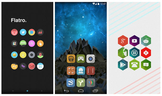 Icon packs like Flatro Lumos and Hexz can breathe new life into your 620x367