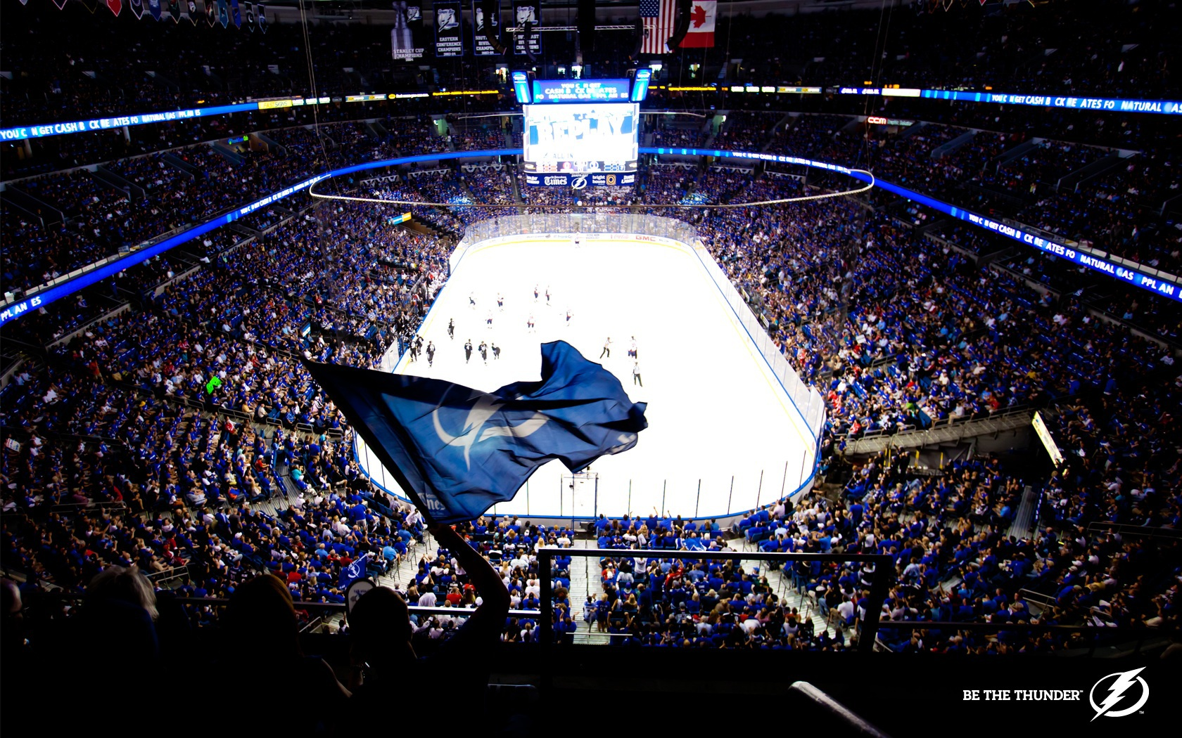 Tampa Bay Lightning images Be the Thunder HD wallpaper and 1680x1050
