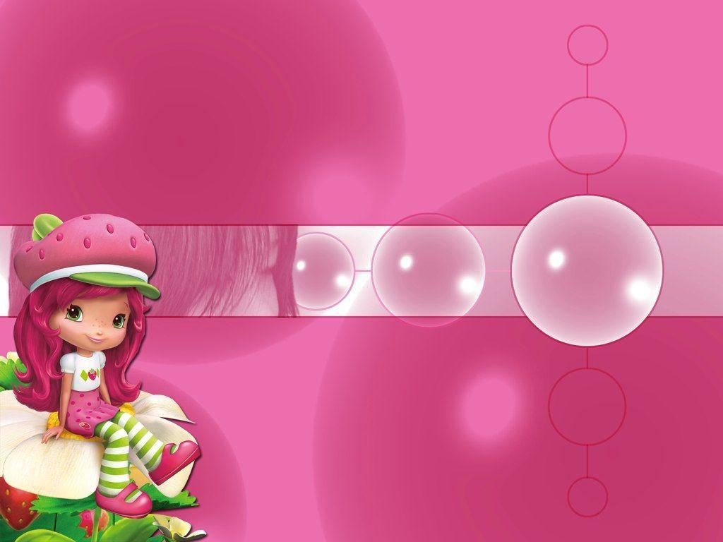 Strawberry Shortcake Backgrounds 1024x768
