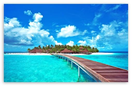 Island Paradise HD wallpaper for Standard 43 54 Fullscreen UXGA XGA 510x330