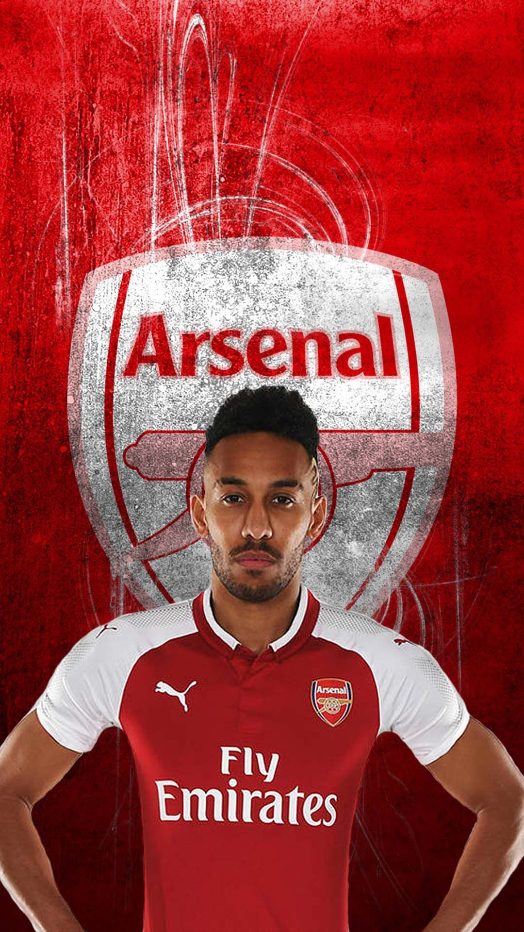 Aubameyang Arsenal Android Wallpaper   Best Android Wallpapers 1080x1920