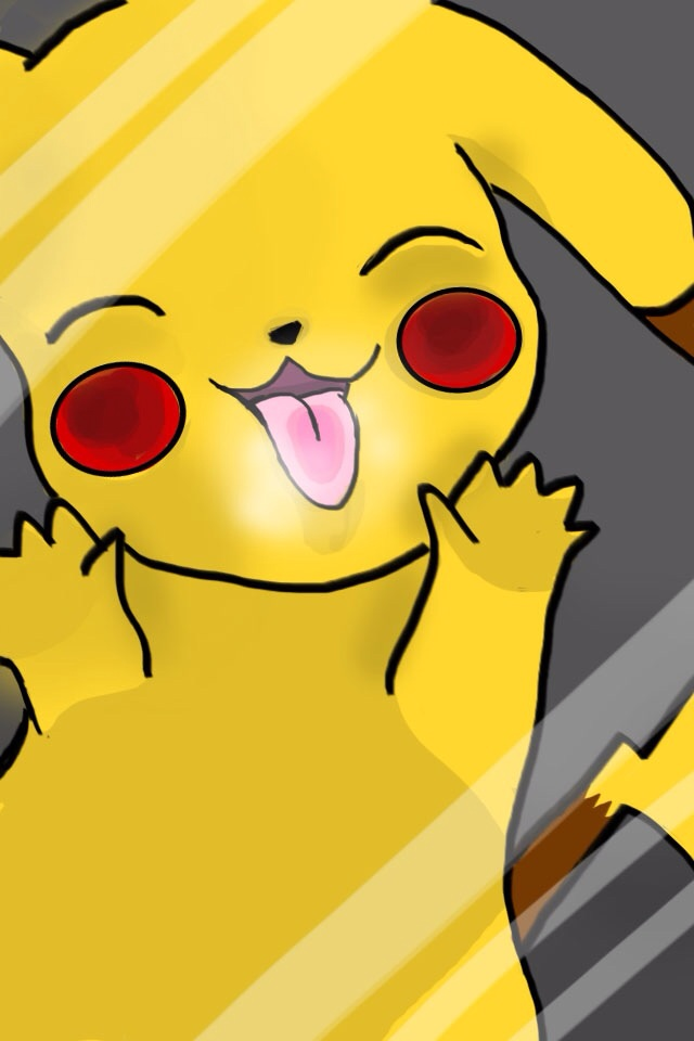 pikachu iphone 5 background