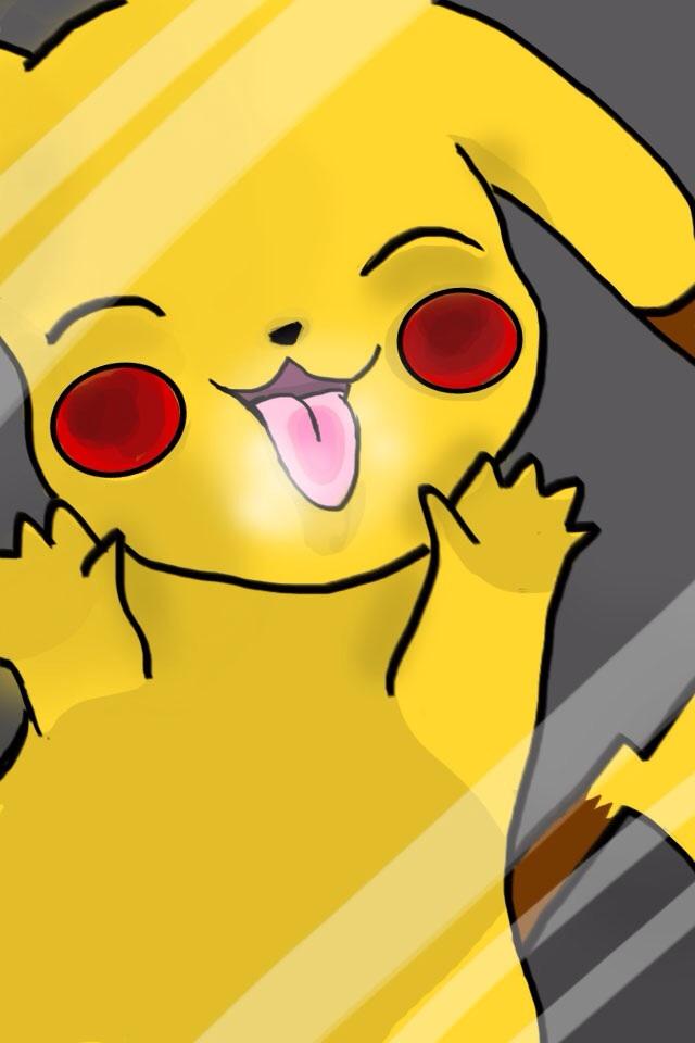 pikachu iphone wallpaper wallpapersafari