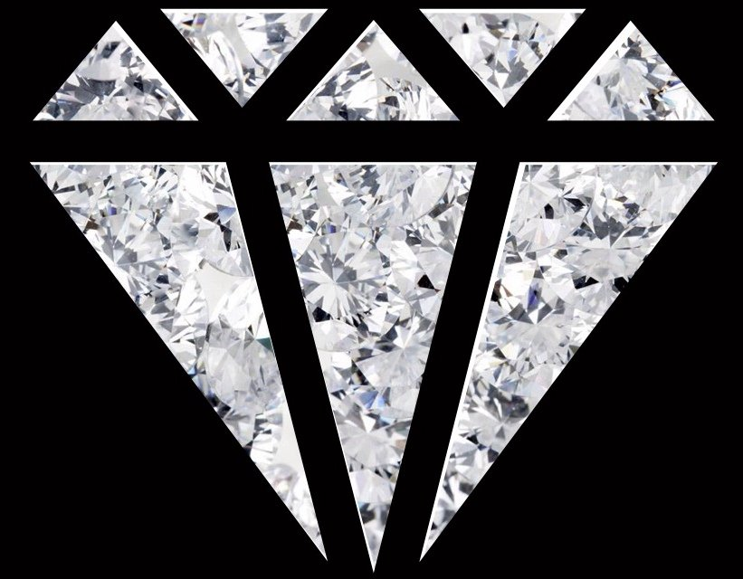 Real diamond iphone