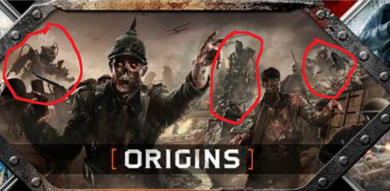 Origins Zombies Wallpaper