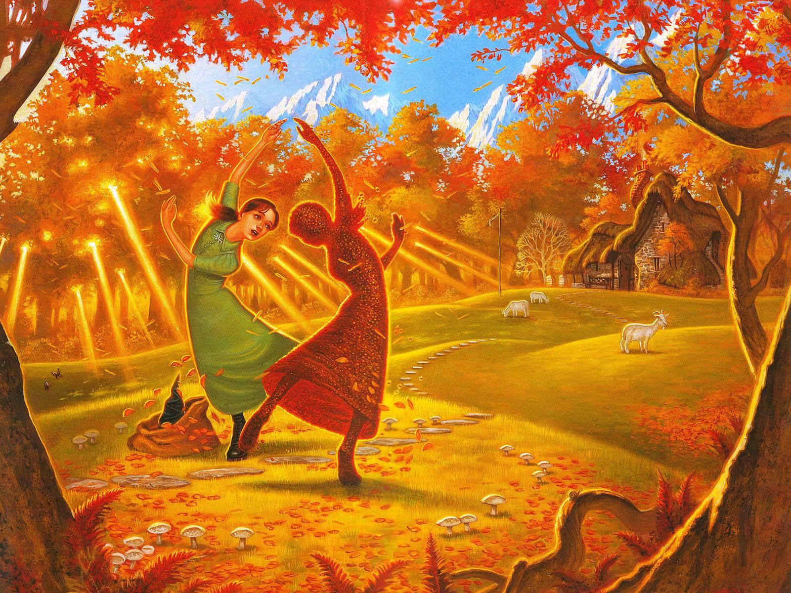 Discworld   Paul Kidby Tiffany Aching Art Hd Wallpapers 1600x1200