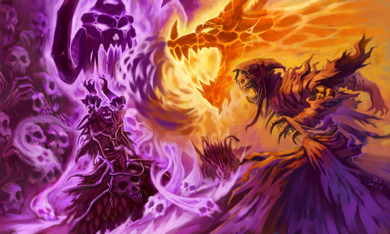 WoW Exquisite Fanarts about Warlock   World of Warcraft   MMOsite 800x481