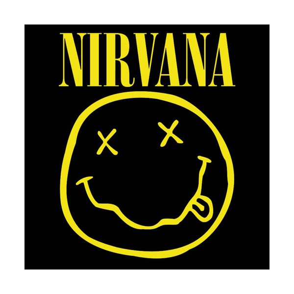 Nirvana Smiley Wallpaper Nirvana smiley face 600x600