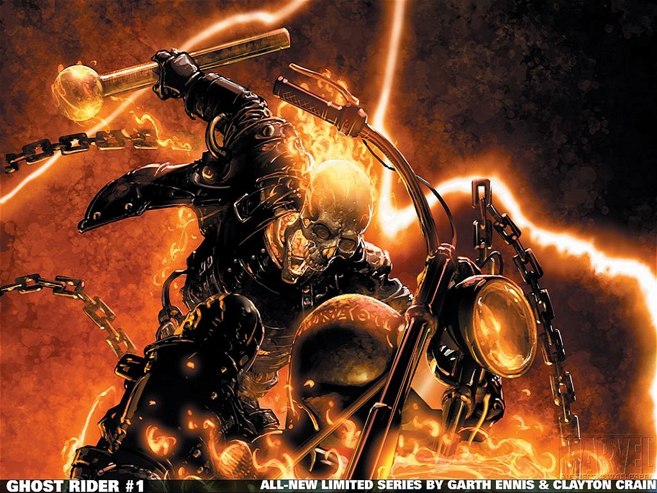 The Ghost Rider Wallpaper 1280x960