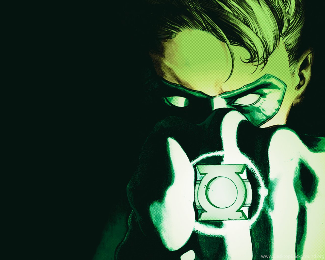 PGM Weekly Wallpaper Green Lantern New Guardians Desktop Background 1280x1024