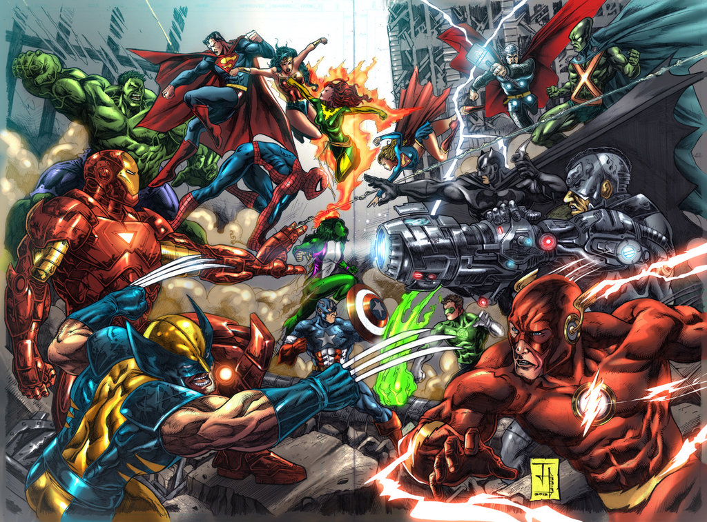 marvel dc wallpaper by - photo #16