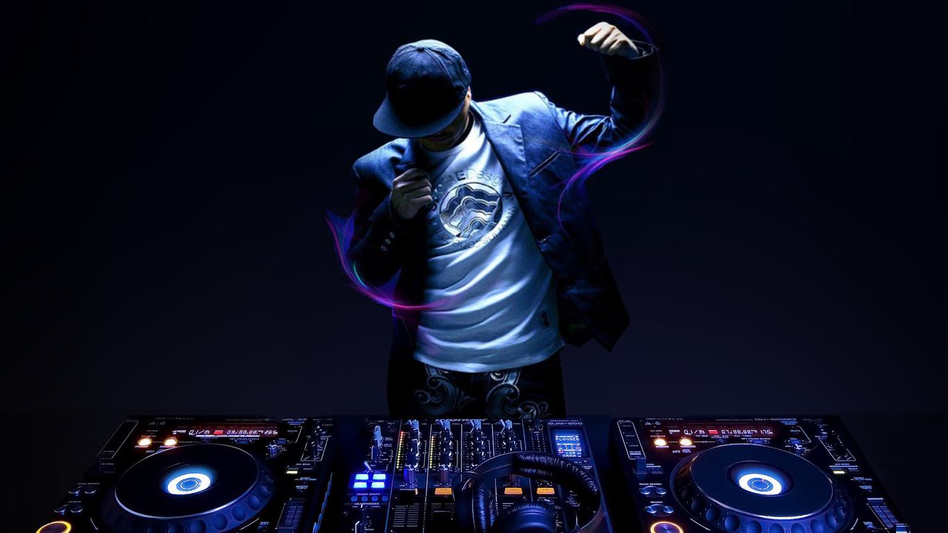 Wallpaper DJ 1366x768
