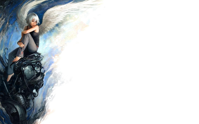 Angel Girl Manga Wallpaper Desktop Wallpaper WallpaperLepi 1440x900