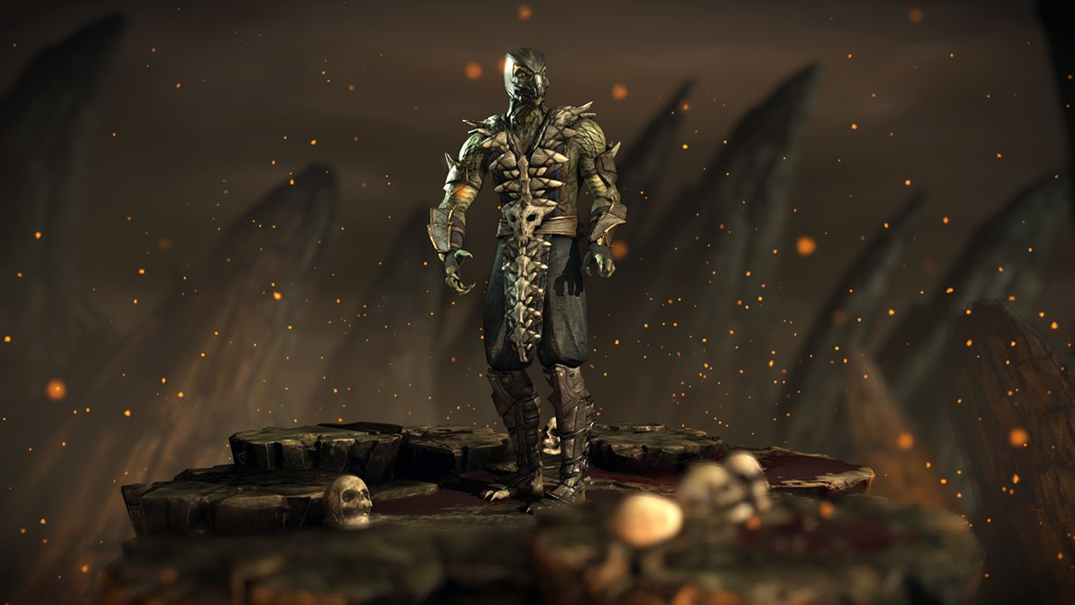Reptile   Mortal Kombat XL by Yurtigo 1191x670