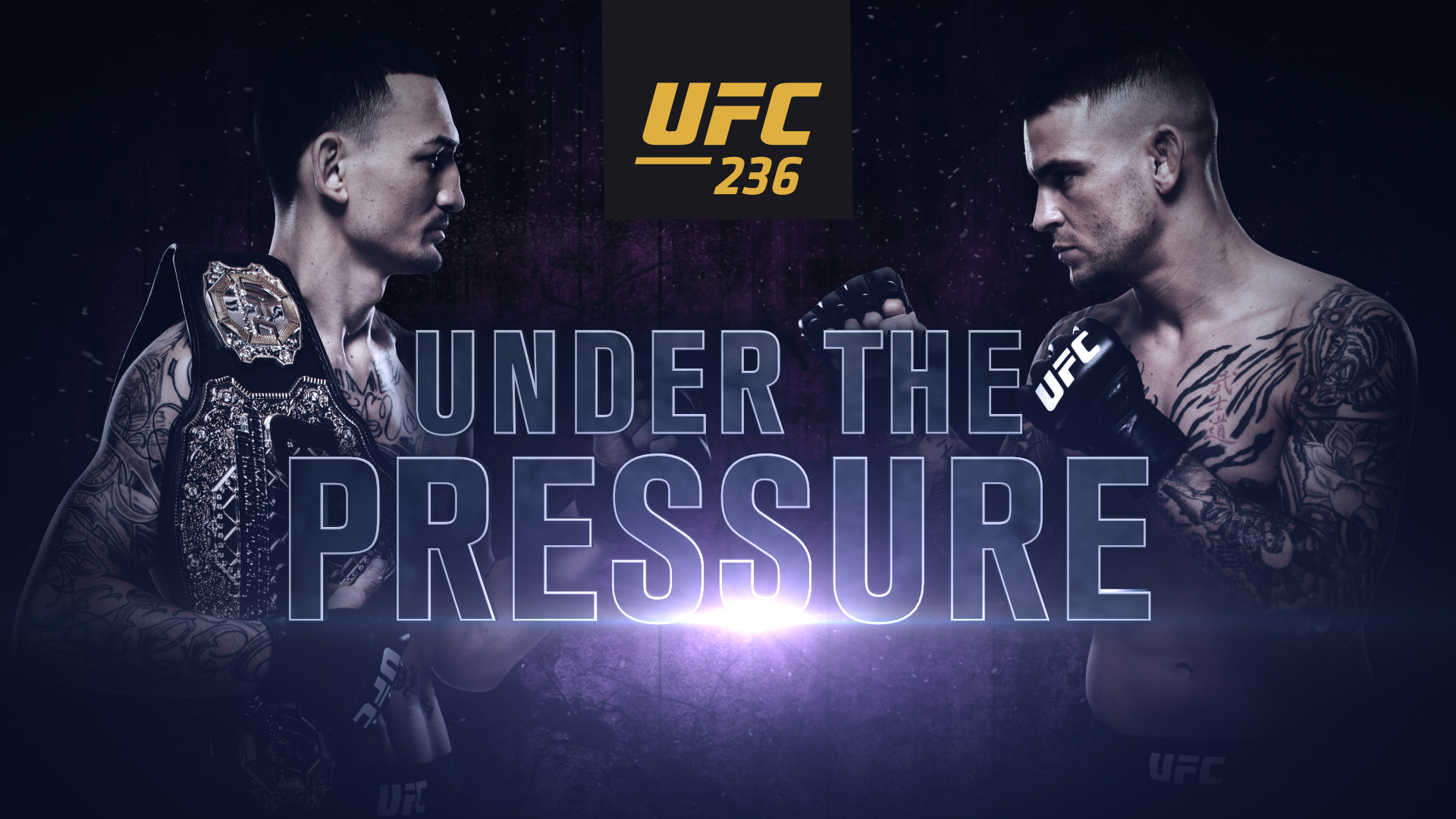 UFC 236 Under the Pressure UFC 1920x1080