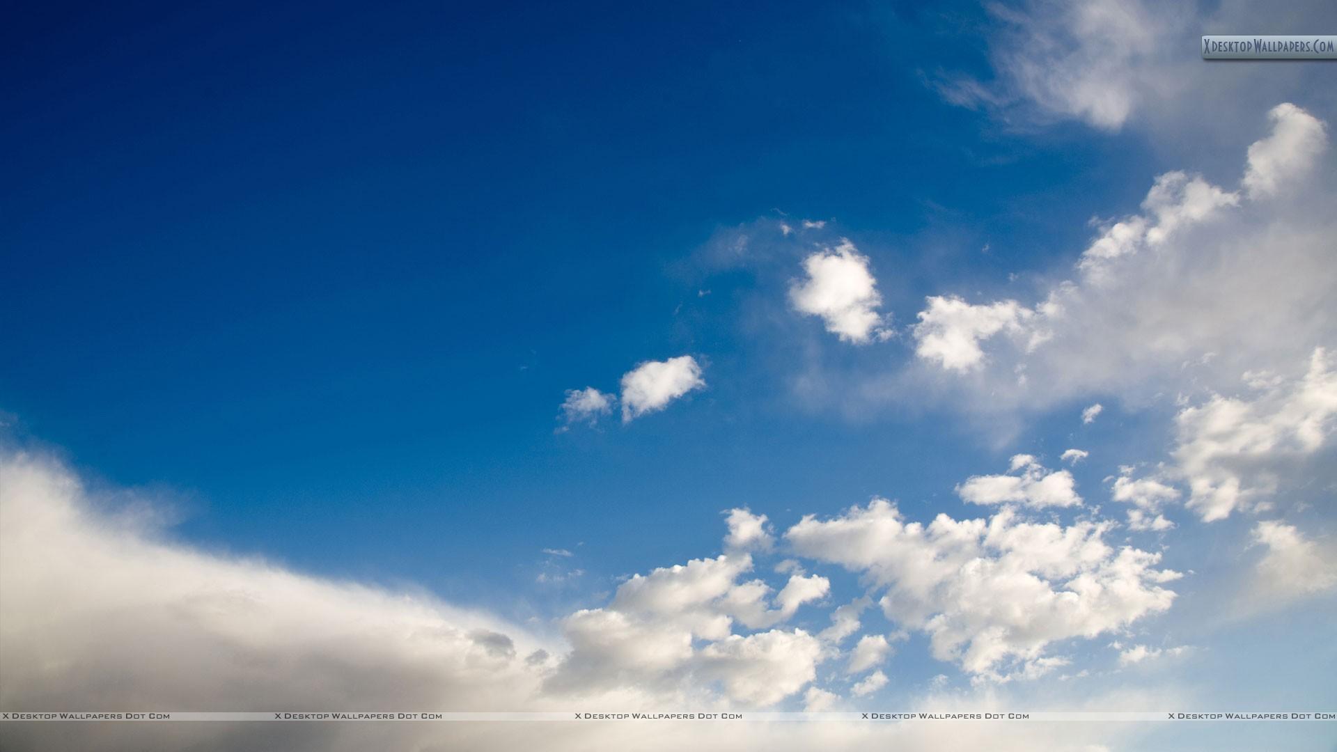 Sky Scene And White Cloud Wallpaper 1920x1080