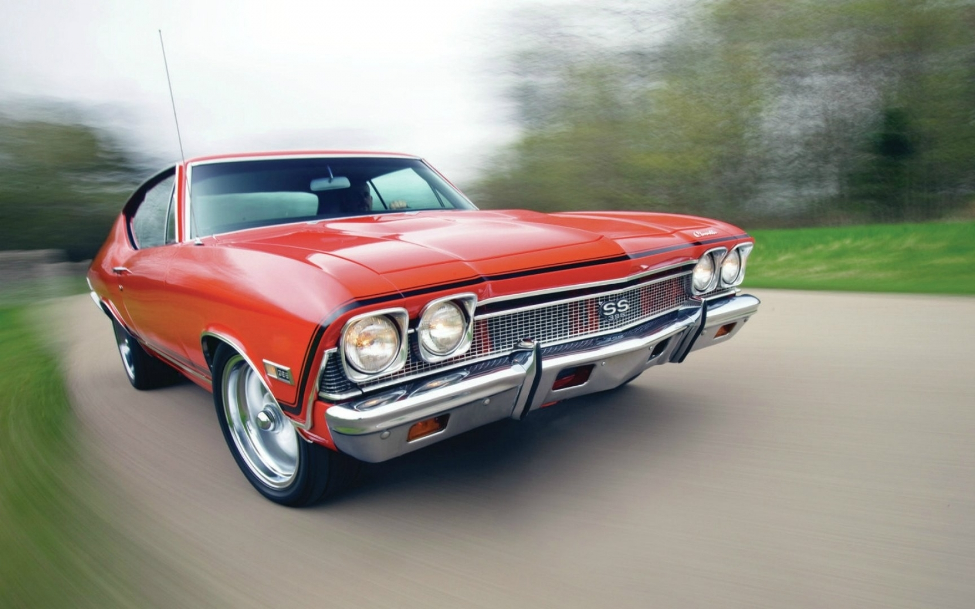 cars chevrolet muscle car Wallpaper Wallpapers Download 1920x1200
