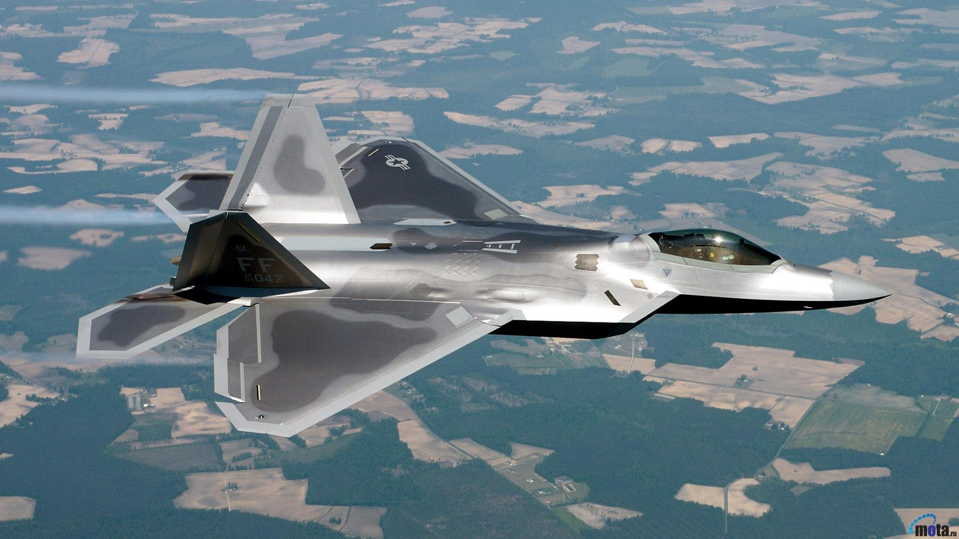 Wallpaper Lockheed MartinBoeing F 22 Raptor 1920 x 1080 HDTV 1080p 1920x1080