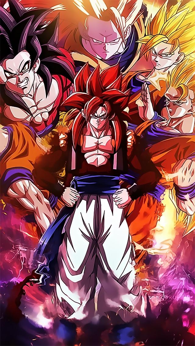 Free Download Son Goku Dragon Ball Wallpaper Iphone Wallpapers