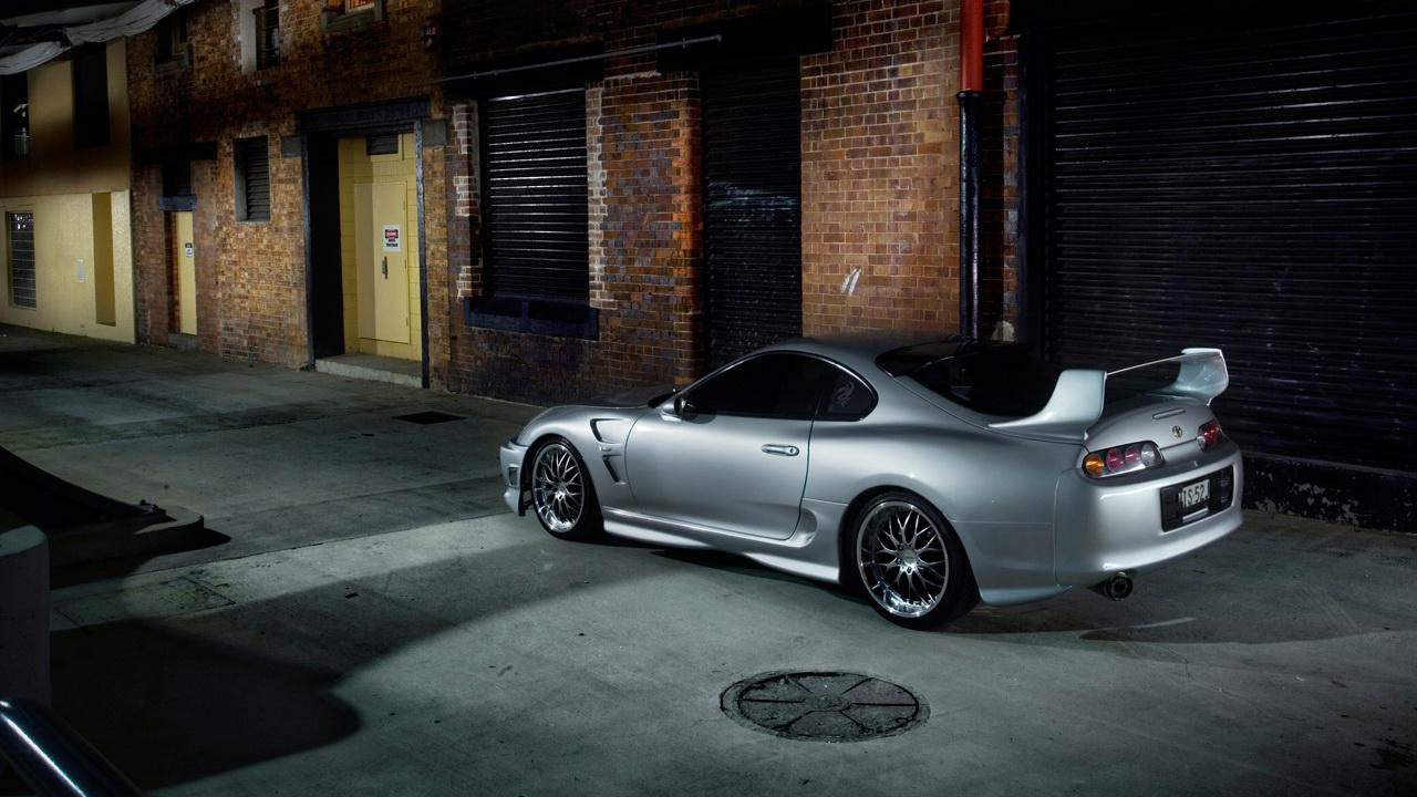 PicVolution   The World Of Pictures HD TRD Toyota Supra Wallpaper 1280x720