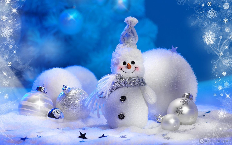 Christmas Wallpapers Snowman Wallpaper Thumb 1440x900