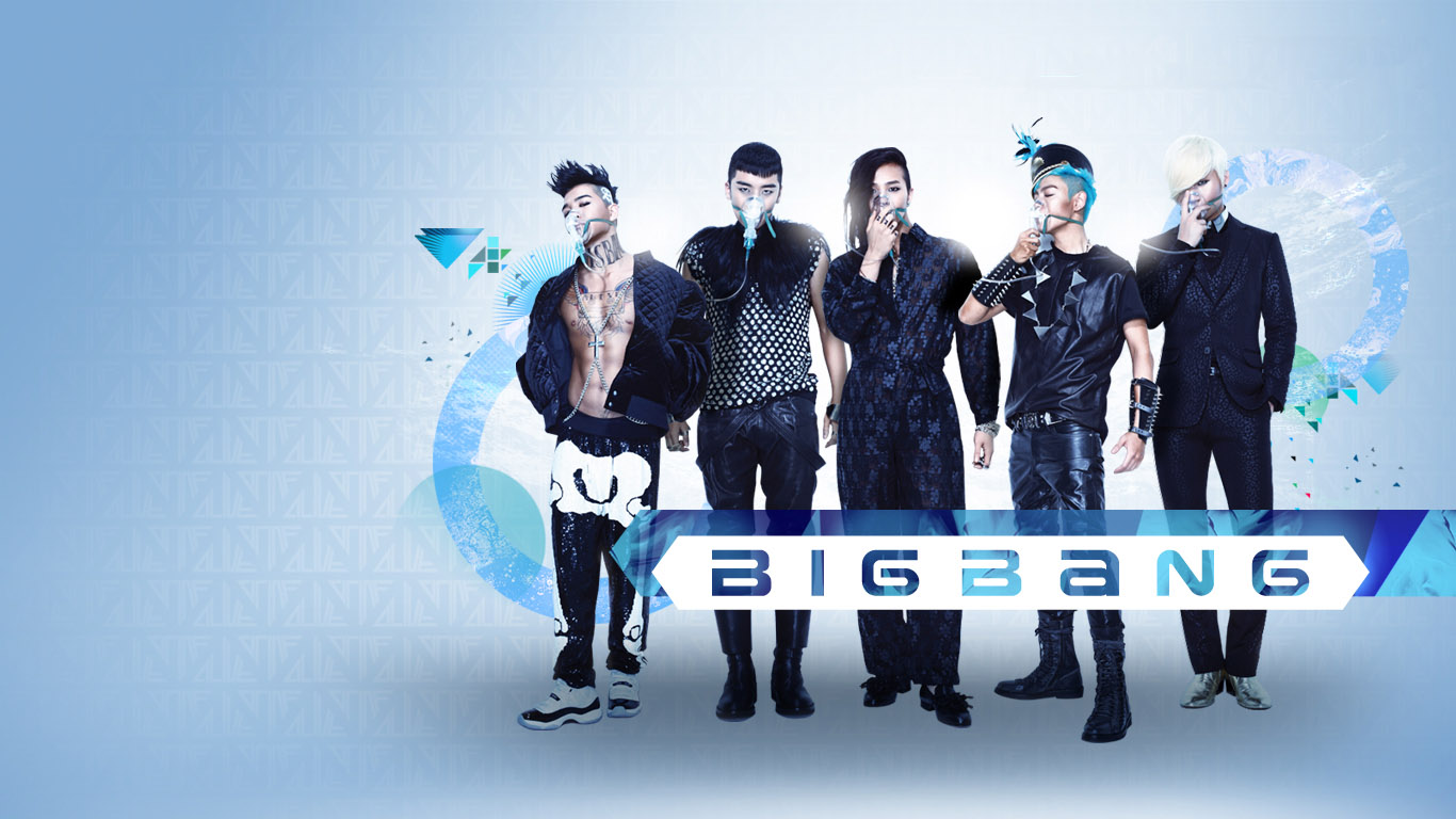 Download Big Bang Shine Wallpaper Wallpapers 1366x768