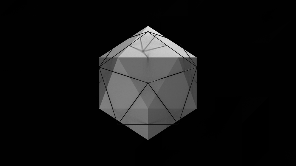 Low Poly Abstract Wallpaper by BenWurth 1024x576