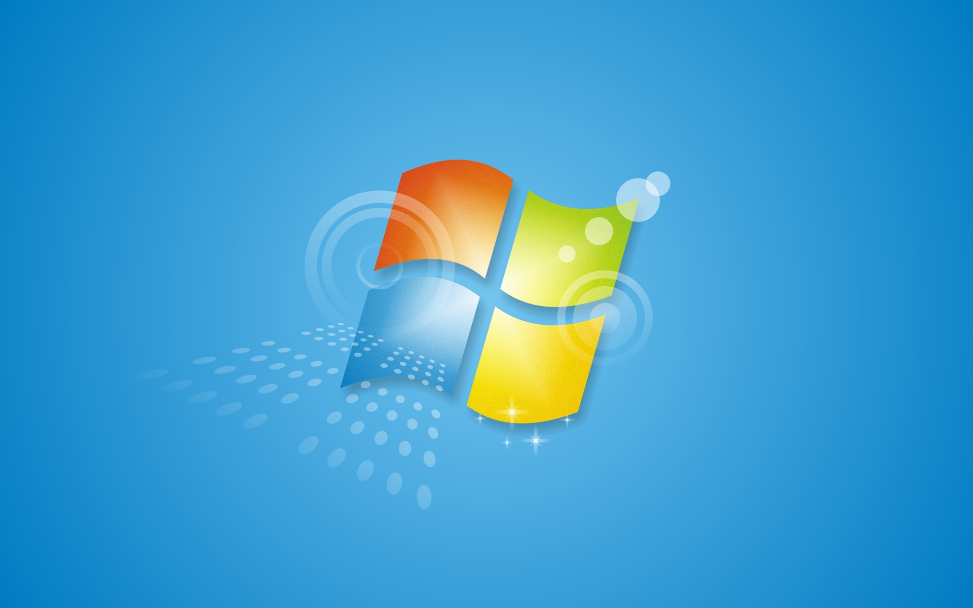 Windows 7 Alternate Blue Wallpapers HD Wallpapers 1920x1200