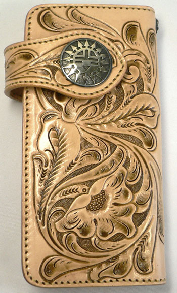 Hand Tooled Leather Wallets Wallpaper 350x577
