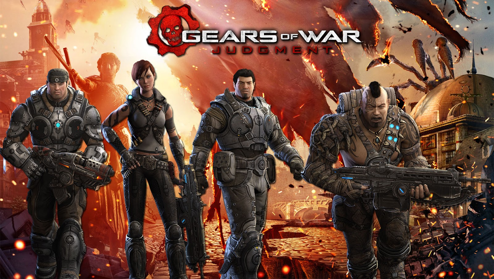 Estamos a unas semanas del estreno de Gears of War Judgment por eso 1600x903